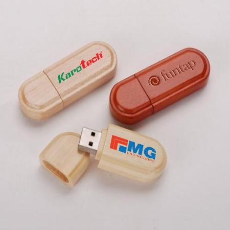 UGV 017 - USB Gỗ Nắp Đậy
