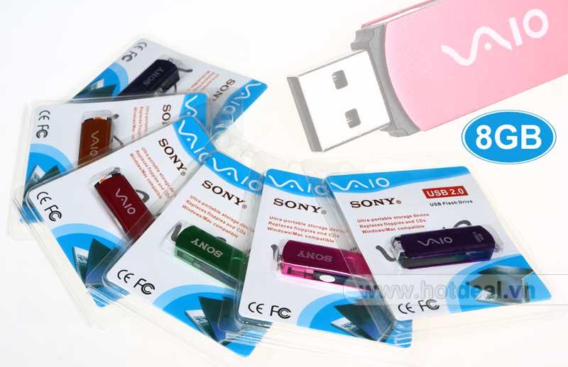 USX 003 - USB SONY VAIO Nắp Xoay 8GB