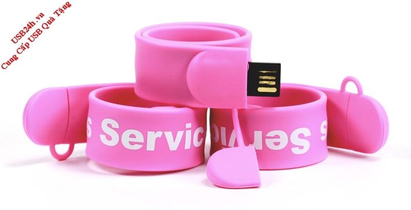 USB quà tặng vòng đeo tay cho doanh nghiep
