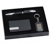 GSV 008 - Bộ Giftset  USB vỏ Da + Bút Kim Loại + Hộp NameCard