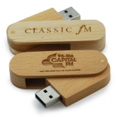 UGV 007 - USB Gỗ Xoay